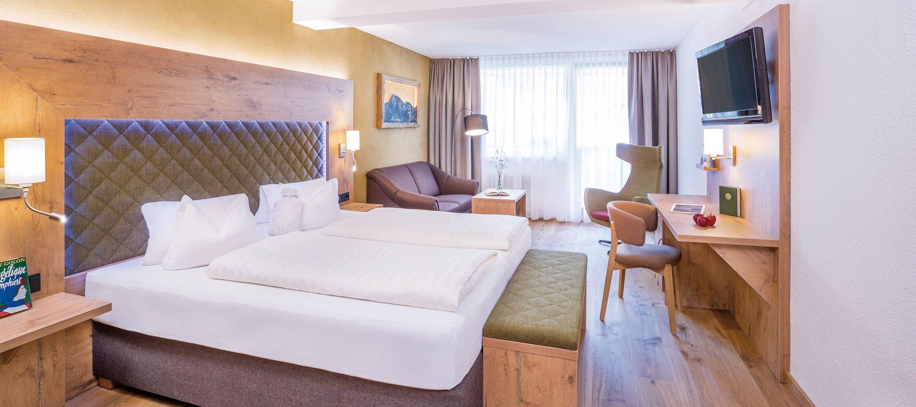 Zimmer & Suiten im Leutascherhof