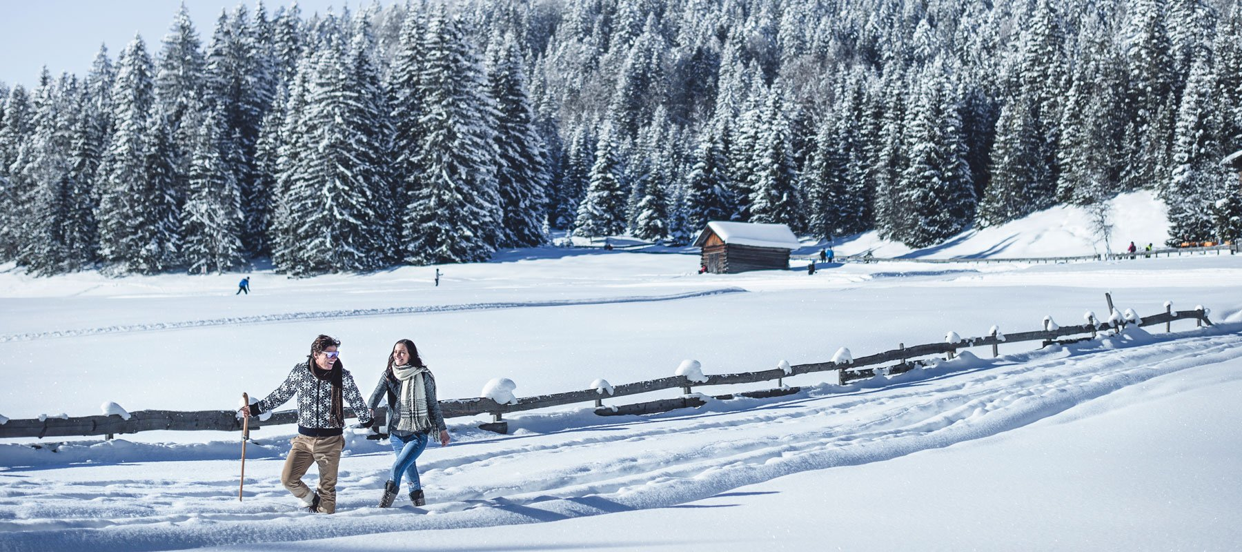 Winterurlaub in Leutasch