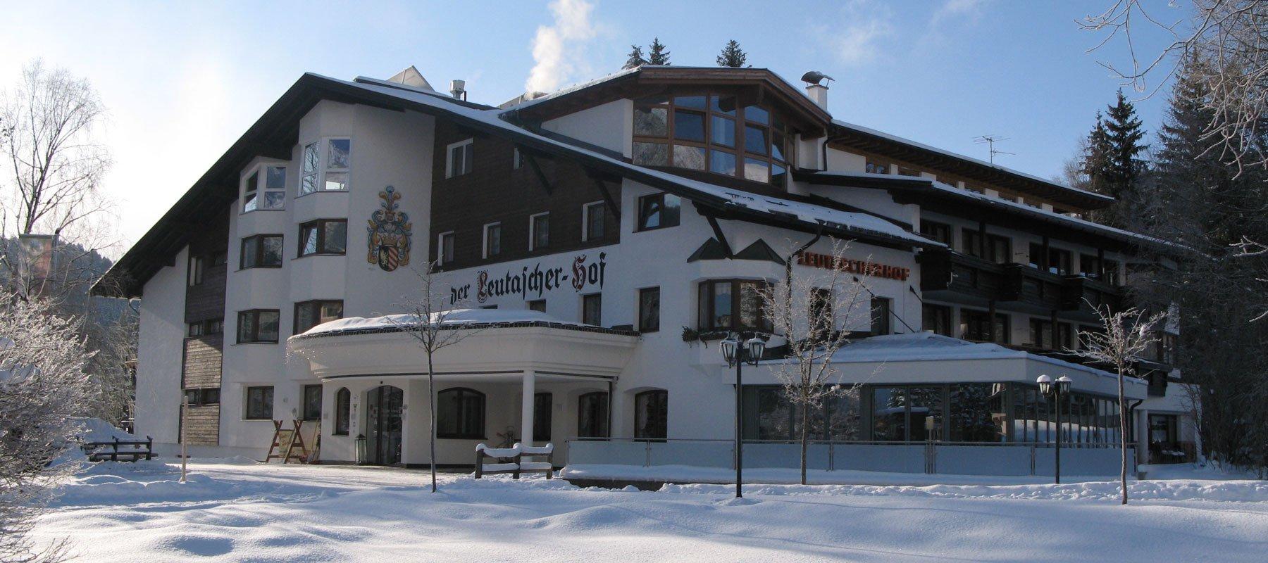 Leutascherhof im Winter